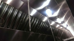 Vent Hood with Filters